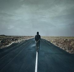 Desert road soliloquy (Sverrir Thorolfsson) Tags: alone asphalt nothingness desertroad soliloquy idream magicunicornverybest magicunicornmasterpiece