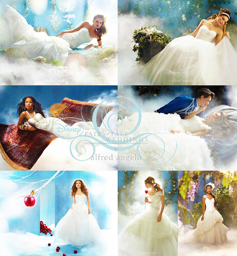Below you 39ll find images and video of the new Disney Princess Bridal Gowns