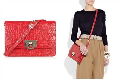 hot-buy-dkny-crocodile-effect-leather-bag