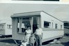 McCreath family on Holiday at Maidens Caravan Site 1960s