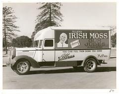 Allen's Irish Moss gum jubes delivery van / W.A. Webber