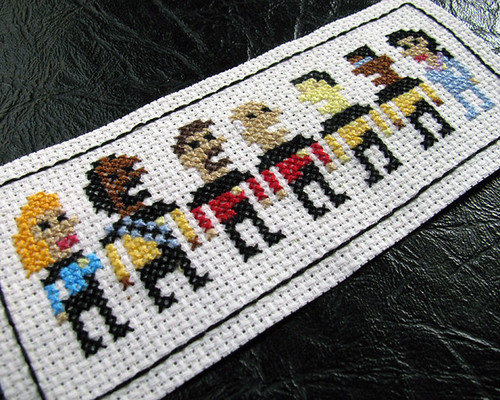 Belated Day 24: TNG Cross Stitch