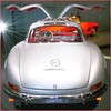 MERCEDES BENZ 300 SL,  W198, silver,    final  EffiArt