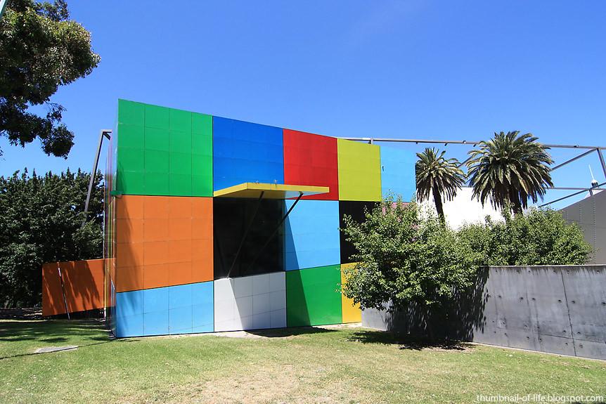 Melbourne Museum Rubix Cube