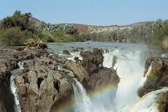 Epupa (ronniedankelman) Tags: africa travel water canon landscape waterfall border afrika namibia landschap kaokoveld afrique reizen grens epupa waterval namibie kunene landofthebrave ringexcellence dblringexcellence republicofnamibia imaginativenl