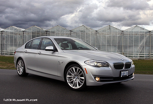 auto car sedan silver germany automobile german luxury 5series ©2011russellpurcell 2011bmw550xdrive