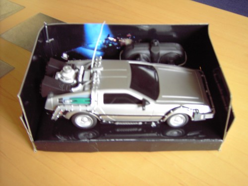 Remote Control Delorean