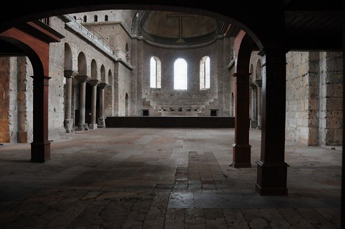 The main space of the church now used for concerts