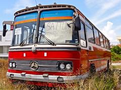 Mercedes Bus (Dr.Sheetrock) Tags: turkey sony may antalya 2010 dschx5v hx5v