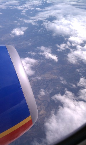 Southwest in the air