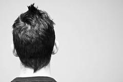 (Damien Cox) Tags: uk gay portrait blackandwhite bw selfportrait man male me self ego hair myself beard head masculine moi frombehind homo homosexual queer backofhead scruff stubble sigma30mmf14exdchsm i nikond40 damiencox snaptweet dcoxphotographycom bwlmono