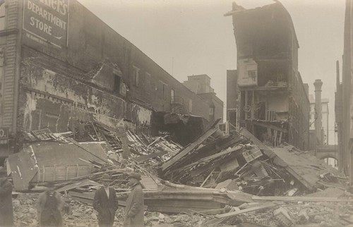 [Collapsed Building on South Main Street]
