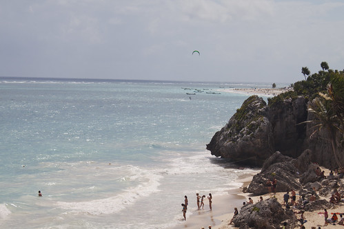 Beach at the Tulum Ruins