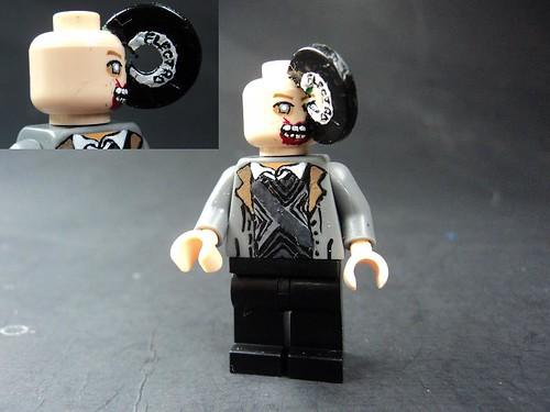 Custom minifig Zombie custom minifigure