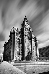 Pier Head - Liverpool (alancookson) Tags: liverpool nd pierhead royalliverbuilding dirtysensor