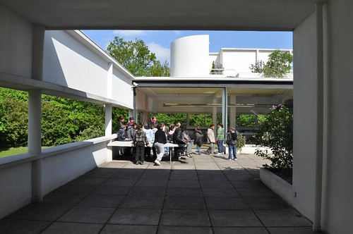 Terrasse Villa Savoye : Villa Savoye terrace a photo on Flickriver