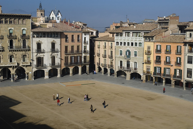Plaça Major de Vic (Osona)