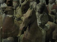 Yiii-haaa! (TinaOo) Tags: horse army terracotta soldiers cavalry