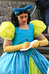 DLP Feb 2011 - Cinderella and her Step Family meet their fans in Fantasyland