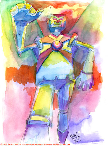 watercolor robot 2_2011