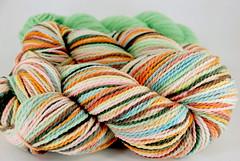 """Munki Sushi"" 8.8oz Mountain Meadow Wool + 1.95oz trim RELIST"
