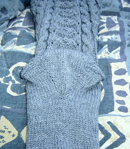 Tall Socks - Gusseted Heel