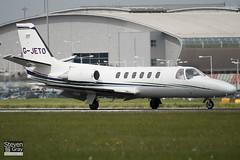 G-JETO - 550-0441 - Private - Cessna 550 Citation II - Luton - 100526 - Steven Gray - IMG_2742