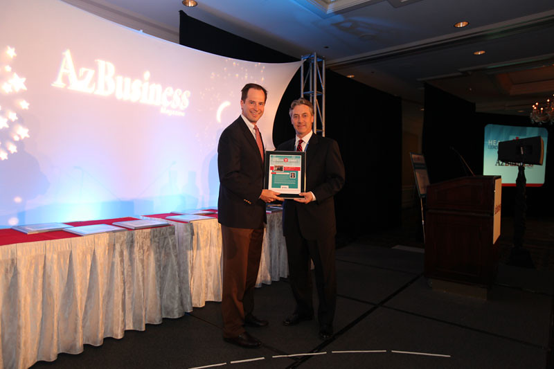 Insurance/Insurance Executive winner David J. McIntyre Jr., president and CEO of TriWest Healthcare Alliance
