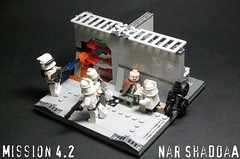Nar Shaddaa 4.2 (Commander Hess) Tags: rain star lego troopers corps wars clone 42 legion nar 55th 2011 seargeant 457th shaddaa