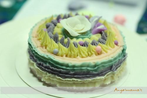 天使媽媽蛋糕皂教學台中 0020