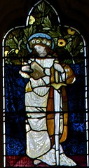 St Catherine (IanAWood) Tags: london raw stainedglass williammorris putney allsaintschurch churchwindows churchofengland morrisco d3x walkingwithmynikon nikkorpce24f35 surreychurches