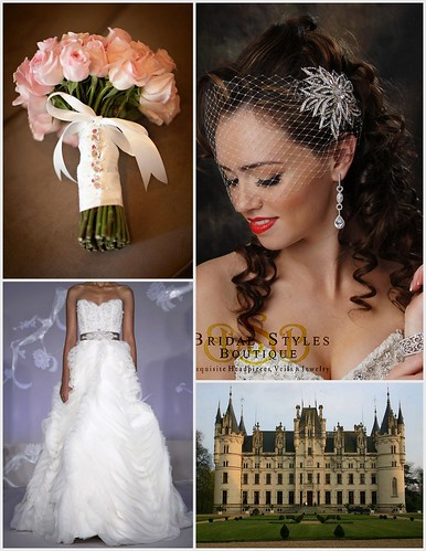 Romantic, Traditional Bridal Style