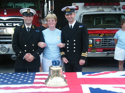 Nancie Smith re HMS Campbeltown Ships Bell 2