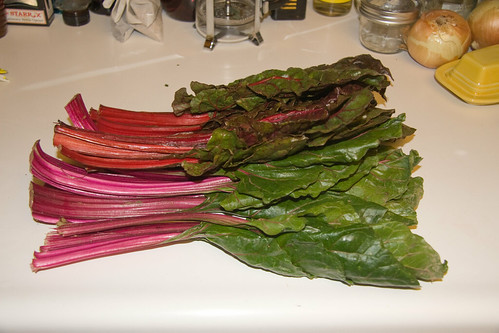 Two Bunches of Chard