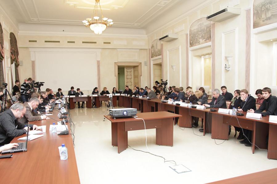 Тина Канделаки в Общественной палате РФ