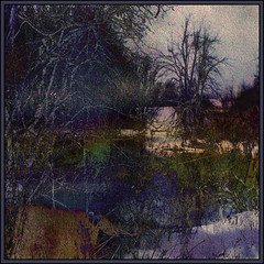 Northern River (Tim Noonan) Tags: winter tree art texture digital photoshop river tim bush darkness manipulation creation edge layers experimentation northern mystic hypothetical tistheseason digi artisticphotos vividimagination expore shockofthenew sotn newreality sharingart maxfudge awardtree maxfudgeexcellence maxfudgeawardandexcellencegroup selectbestexcellence magicunicornmasterpiece sbfmasterpiece exoticimage digitalartscene netartii digitalartscenepro vividnationexcellencegroup