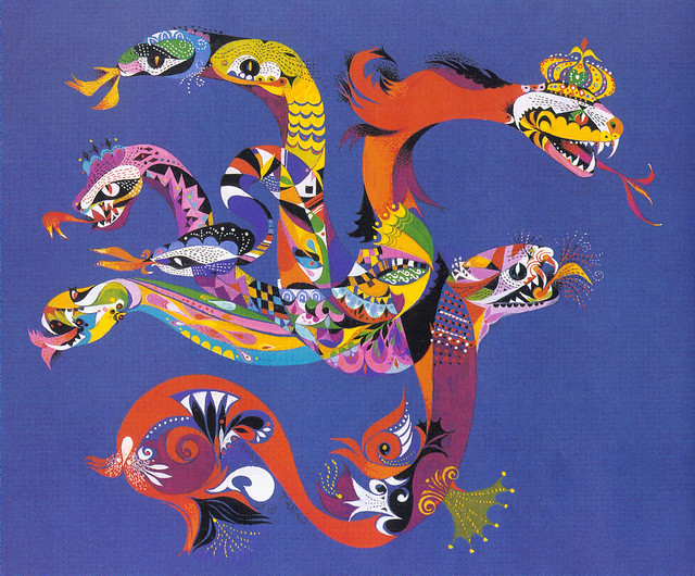Erni Cabat (Magical World Of Monsters 1992) Hydra