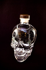 Crystal Skull Vodka III (Der_Krampus) Tags: skull alcohol vodka lightbox crystalskull offcameraflash