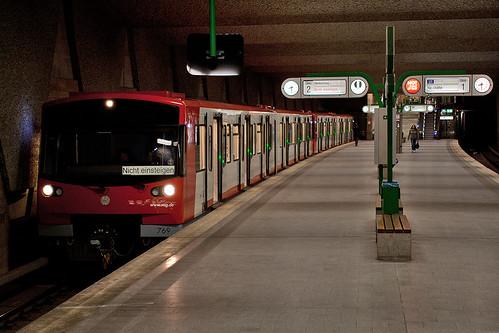 DT3F-Testfahrt am Fürther Hauptbahnhof