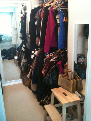 PROJECT SIMPLIFY: AFTER: A closet I can live with!