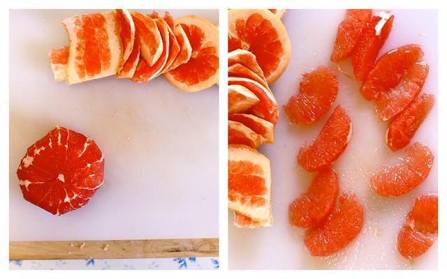 grapefruit collage