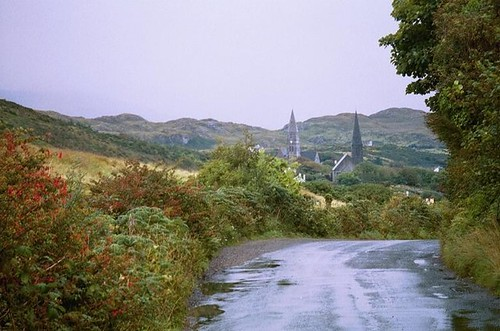 Clifden, Co. Galway, from the Sky Road (c2011 FK Benfield)