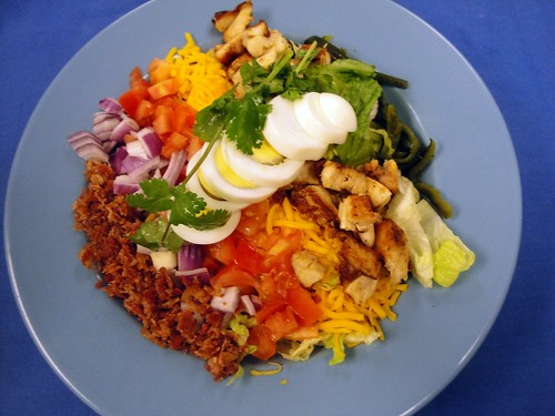 Aldaco's Chicken Fajita Cobb Salad