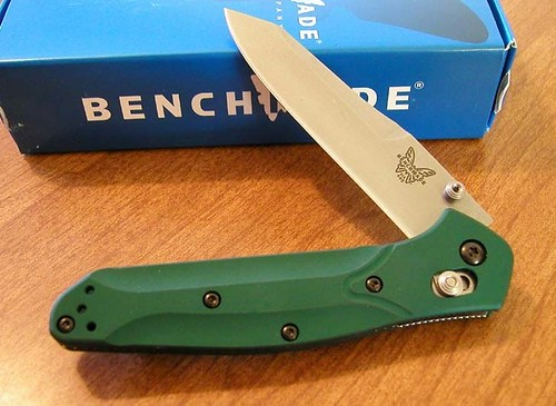 "Benchmade Model 940 Osborne 3.4"" S30V Satin Plain Edge Blade"