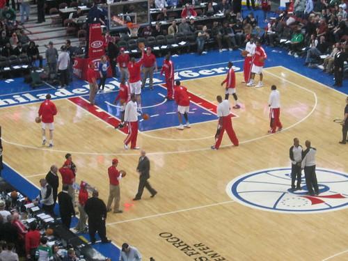 76ers Practice