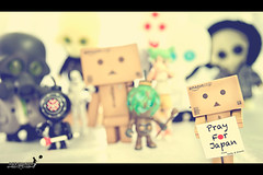 (achew *Bokehmon*) Tags: trooper japan toys robot starwars earthquake amazon box tsunami  donation mothernature yotsuba danbo prayforjapan danboard squadts