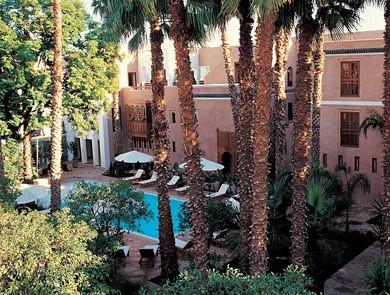 Hotell Les jardins de la medina