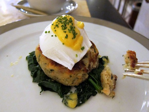 Wolsely Fishcake with Poached Egg