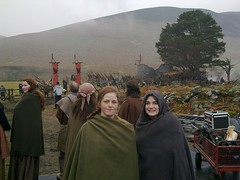Camelot S1 reshoot in Lugalla (day 2)
