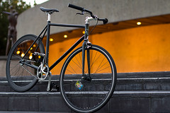 (colinlogan) Tags: bike bars seat gear fixed fixie velocity charge cockroach deepv b43